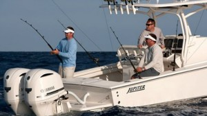 Jupiter 32 FS fishing boat