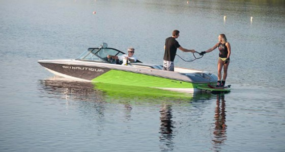 Ski Nautique 20 closed bow