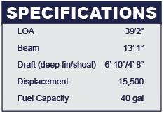 Catalina 385 specifications