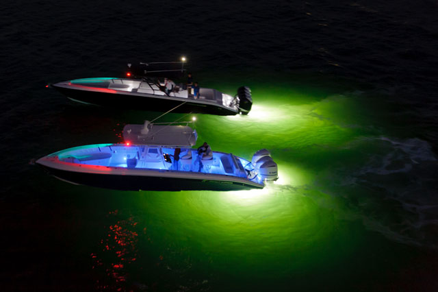 using led lighting on your boat - boats, Reel Combo