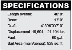 Tartan 4000 specifications