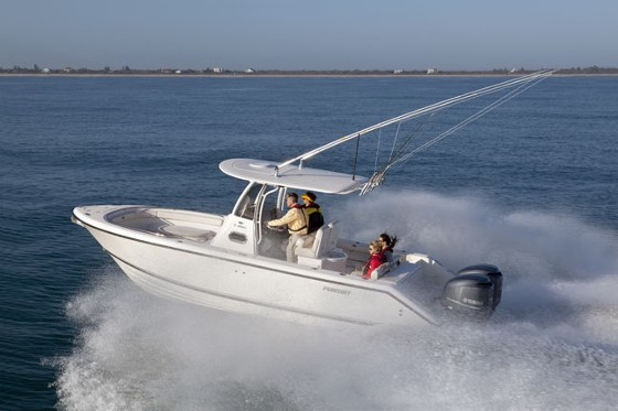 Pursuit C 260: Fishing at the Canyons, with Class