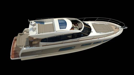 Prestige 550 rendering