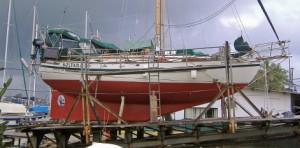 Tayana 37 hauled out Panama