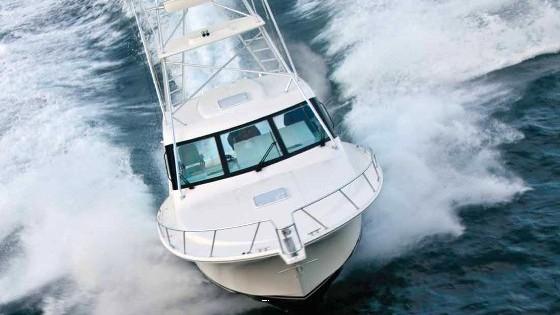 Cabo Yachts hard top express