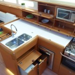 Jeanneau SO509 galley