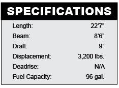 Carolina Cat 23CC specifications