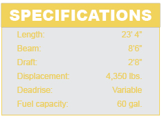 MasterCraft X30 specifications