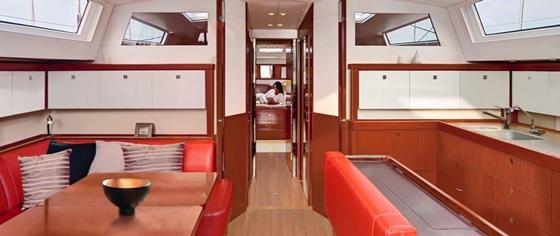 beneteau sense 55 interior