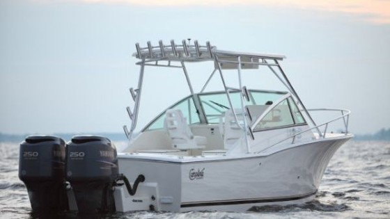 Carolina Classic 25 with outboards