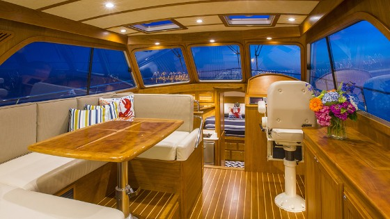 cabin in the Sabre 38