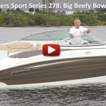 2013 Cruisers Sport Series 278: Video Boat Review
