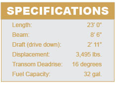 Larson All American specifications