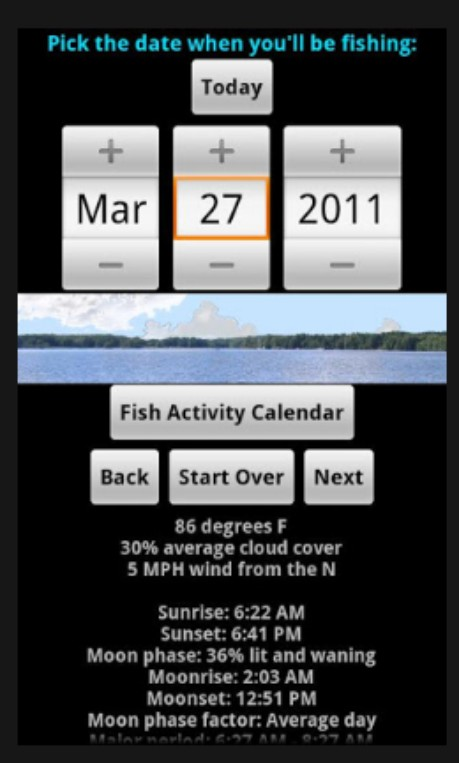 fishing advisor app