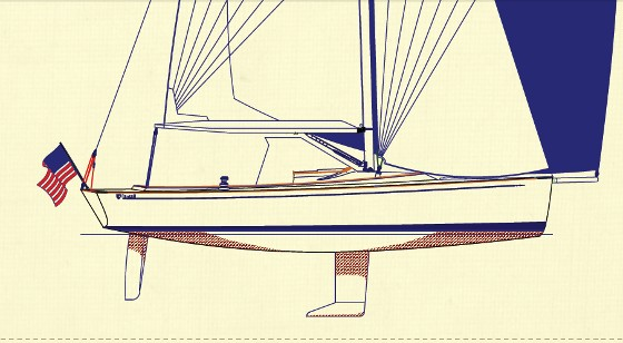 Tartan Yachts 26 fantail