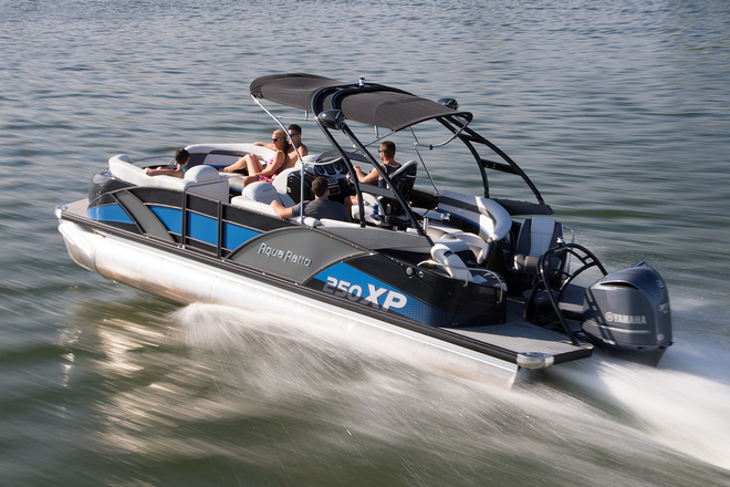 10 top pontoon boats our favorites for Best fishing pontoon
