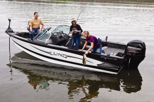 Lund 1875 crossover for Best boat for fishing and family fun