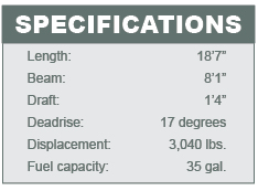 Bayliner 190 DB specifications