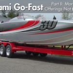 Go-Fast Boats at Miami Show, Part II: More New Offerings Not to Miss