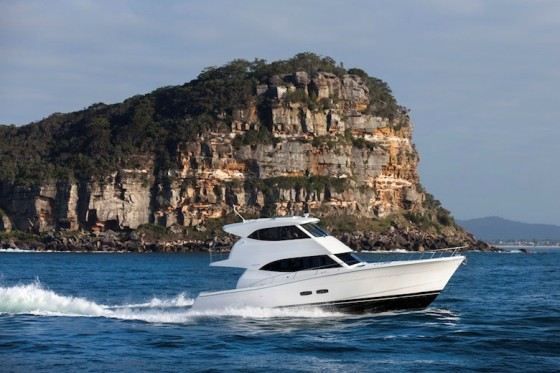 Maritimo m50 enclosed flybridge