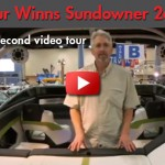 Four Winns Sundowner 265: 50 Second Video Tour