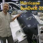 Hurricane SunDeck 2690 Deck Boat: Quick Video Tour
