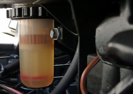 fuel-water separator
