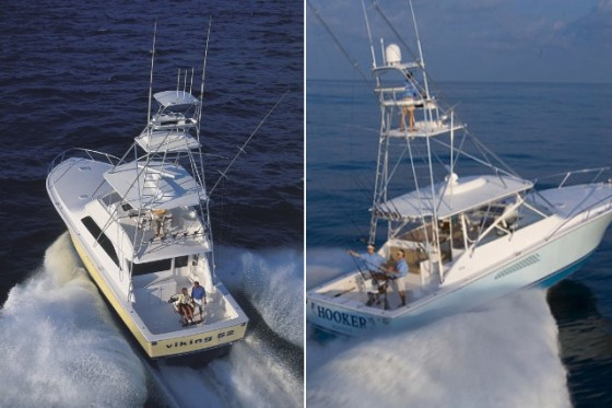 Convertible vs express which is best for bluewater for Fishing boat brands