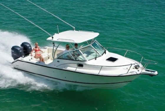 Cuddy cabin boats family friendly fun for Best boat for fishing and family
