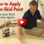 How to Paint a Non-Skid Deck
