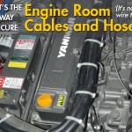 The Best Way to Secure Cables and Hoses in Your Engine Room
