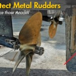 Protecting Metal Rudders With Sacrificial Anodes
