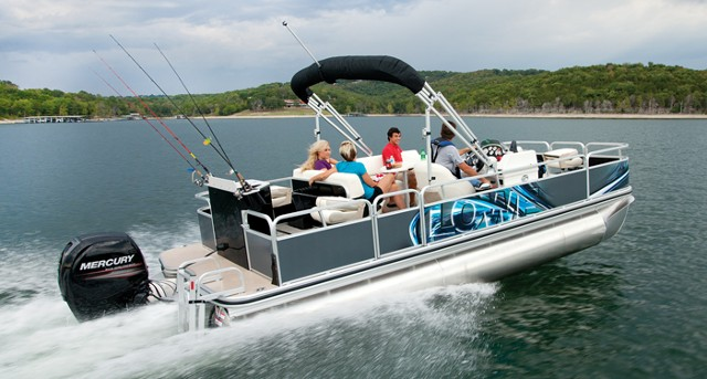 Can A Pontoon Boat Be A Serious Fishing Boat Boats Com