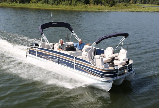 can a pontoon boat be a serious fishing boat