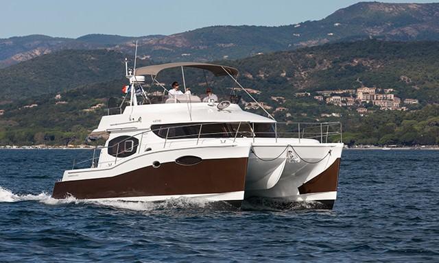 Fountaine Pajot Summerland 40: Trawler and Catamaran In ...
