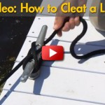 How to Tie a Line on Cleat