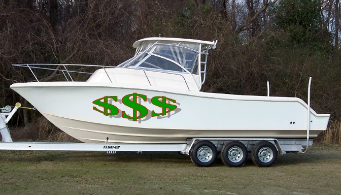 10 ways to save money with a boat on a trailer for Best aluminum fishing boat for the money