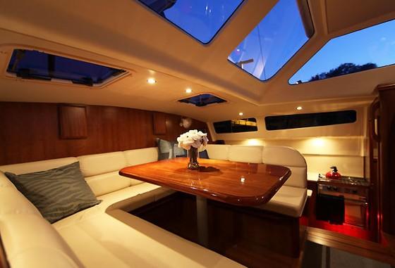 gemini legacy cabin interior