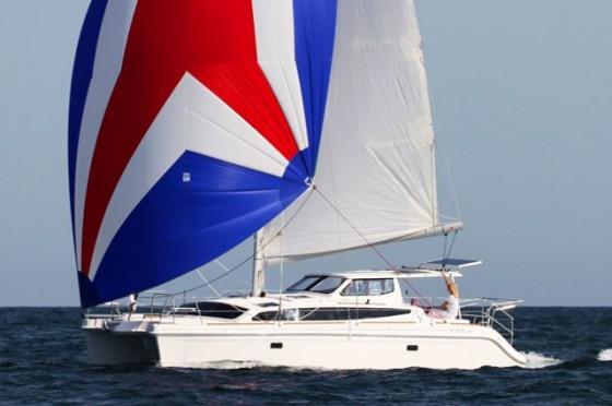 gemini legacy 35 under sail
