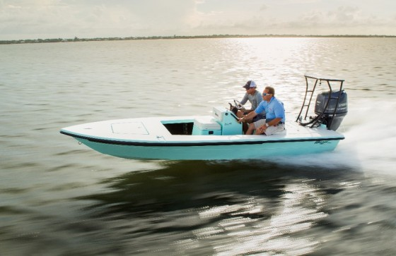 maverick technical poling skiff