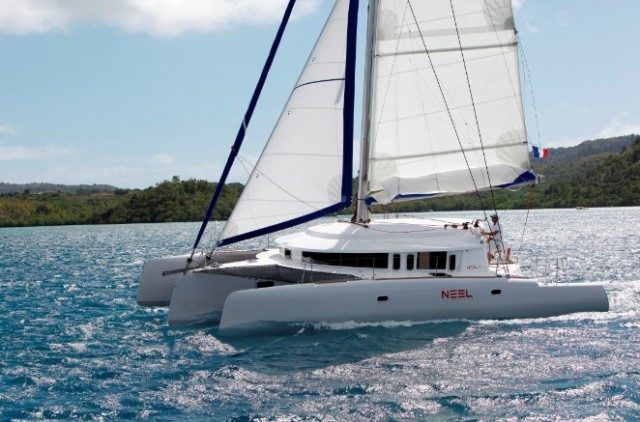 ... unusual, but NEEL plans to change that with sailboats like the 45