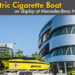 Mercedes-Benz Museum Displays Electric Cigarette Performance Boat