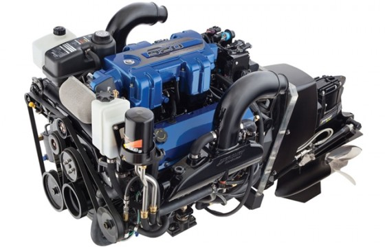 Mercury Digital Throttle and Shift and a two-year warranty come standard with Mercury Racing's new 520 engine, the company's least-powerful and most-affordable offering.