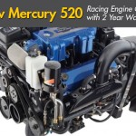 New Mercury 520 Racing Engine Boasts Two-Year Warranty