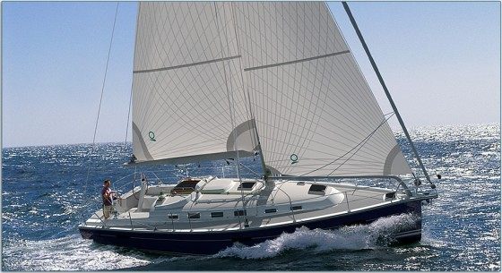 sailing blue jackett 40