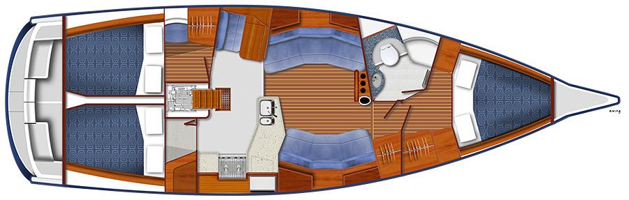 Blue Jacket 40: Performance Cruiser Kismet - boats.com