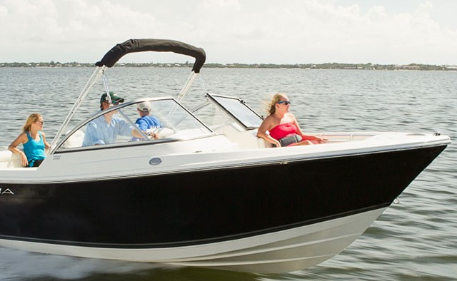 Cobia 22 dual console efficiency in a fish n ski for Fish and ski boat