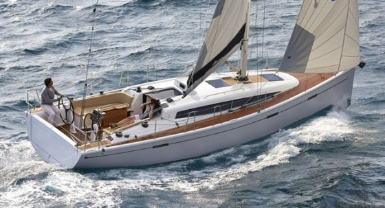 The Dehler 38 is a  Judel/Vrolijk design, built by Hanse Yachts  for the racer/cruiser market.