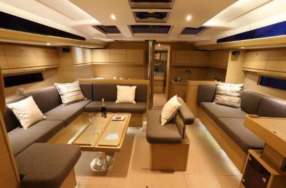 dufour 50 cabin