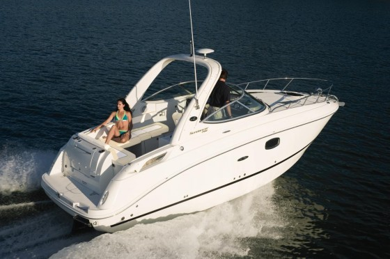 sea ray sundancer 260 cruising